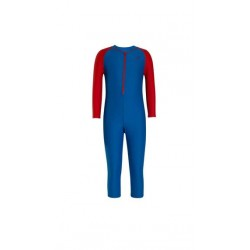 SPEEDO B COLOR BLOCK A1 SUIT-DNUB/RRED