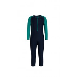SPEEDO B COLOR BLOCK AIN1 SUIT-NVY/JAD