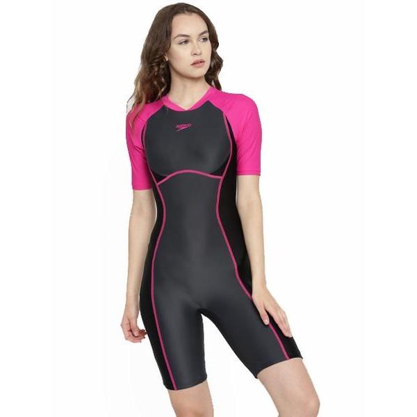 Speedo Women's Essential Spliced Kneesuit